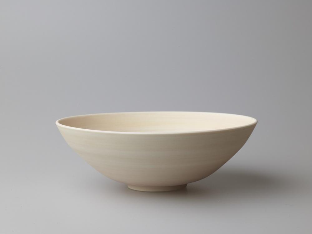 Medium Pink/Yellow/Purple Wide Bowl  16.5 x 7.5 cm  £80