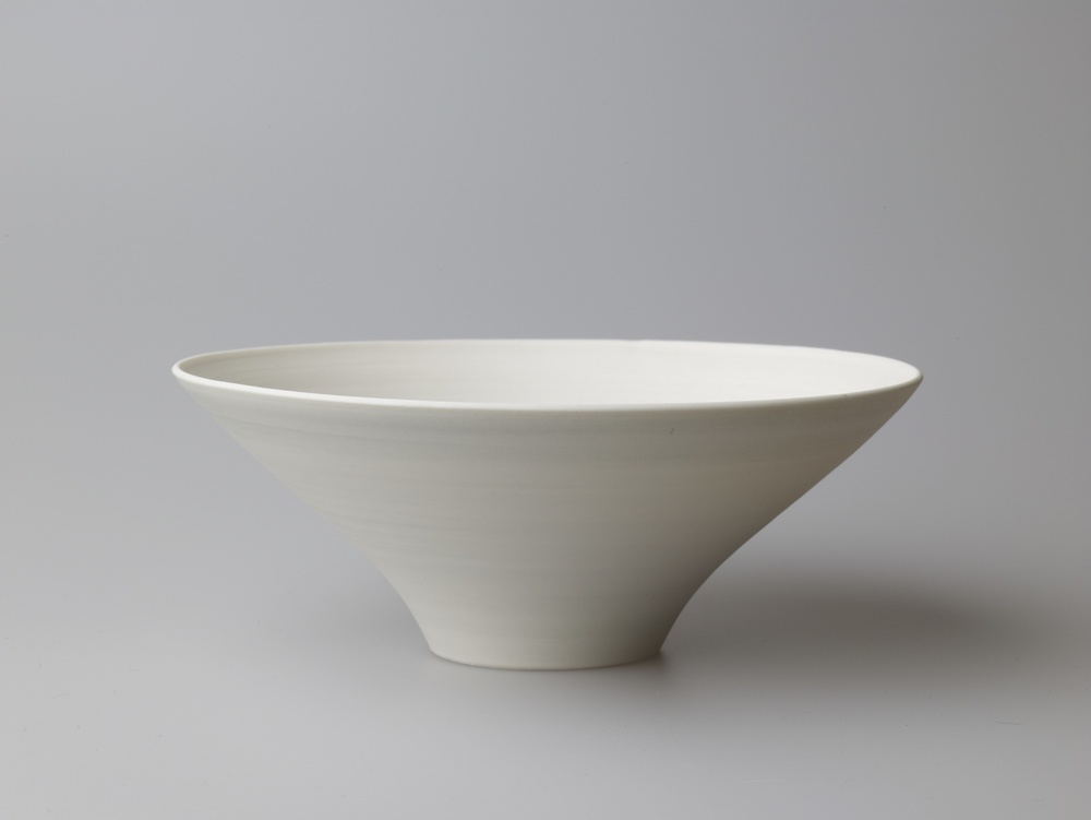 Medium Grey Wide Bowl 18.5 x 7 cm £80
