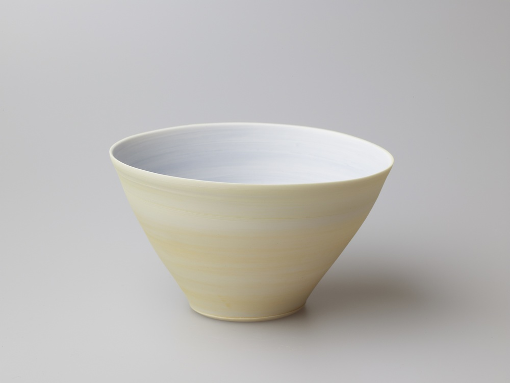 Medium Yellow and Blue Bowl  14 x 8 cm  £80
