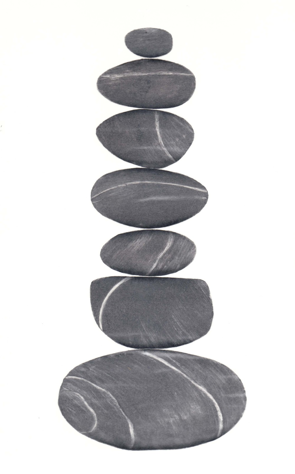 Balance IV  paper collograph print  26 x 37cm  £59 unframed