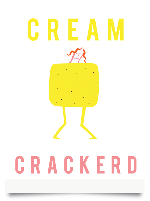 Cream Crackerd screen print £15 (unframed)