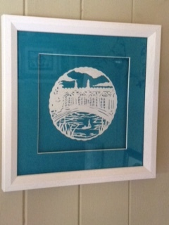 Bridge of Sighs papercut £125