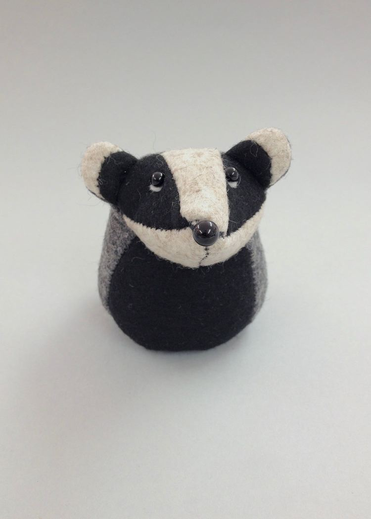 Bernard the Badger   felt