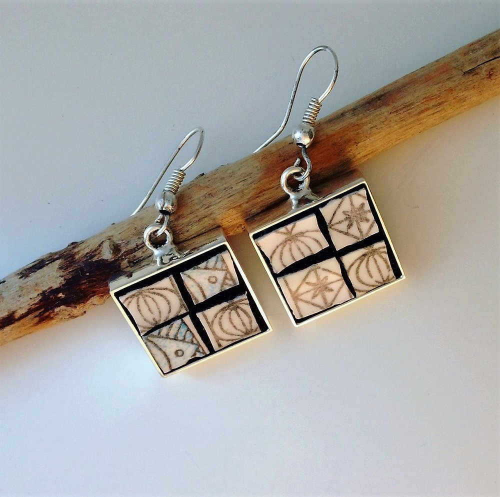 Square Earrings £26