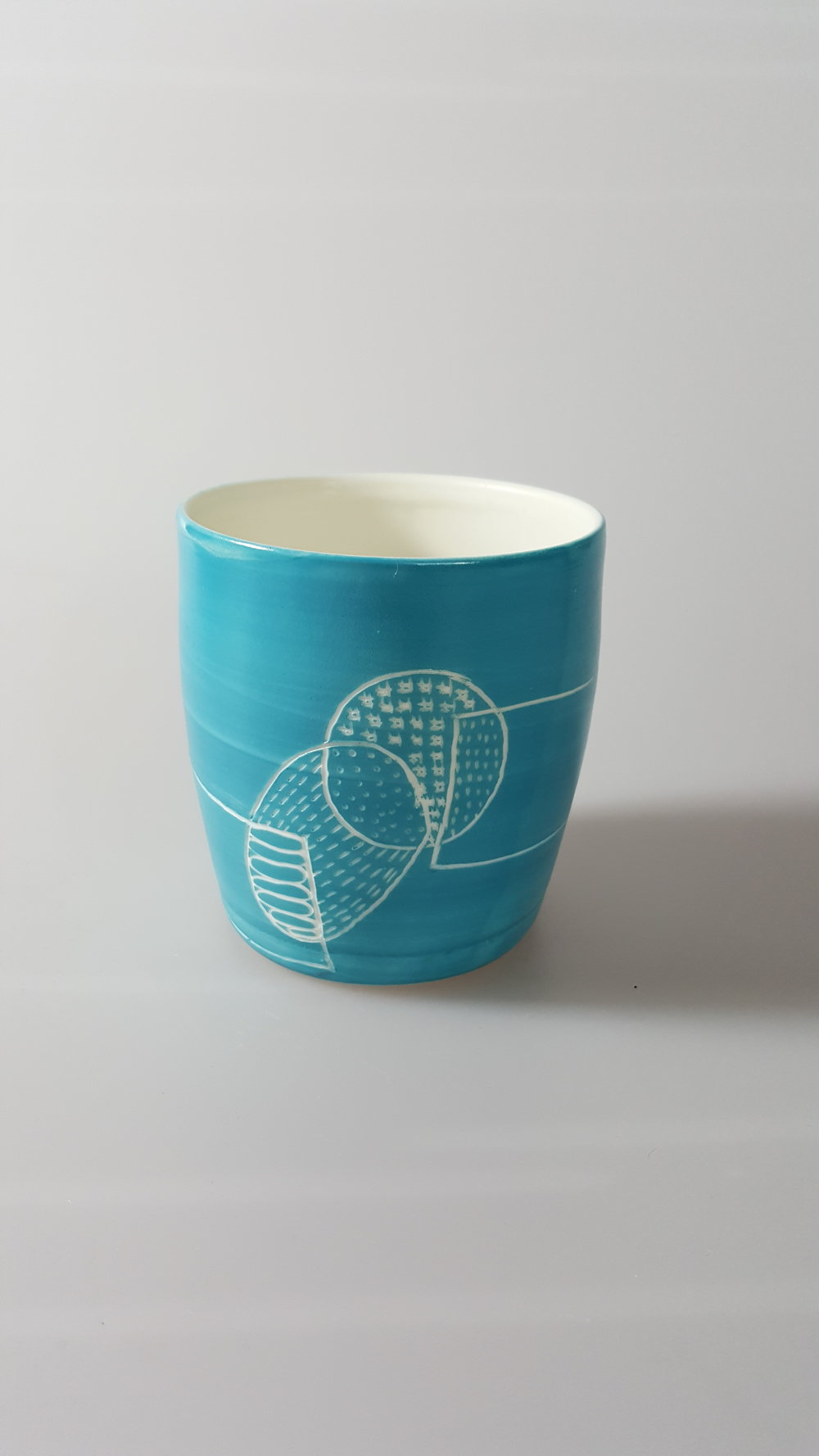 Tumbler with Drawing ceramic £30
