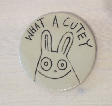 Alice Maplesden What a Cutey ceramic £11
