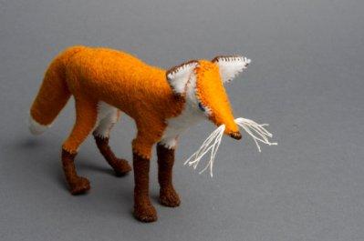 Lillian Bixler  Fox  woolen felt  £50