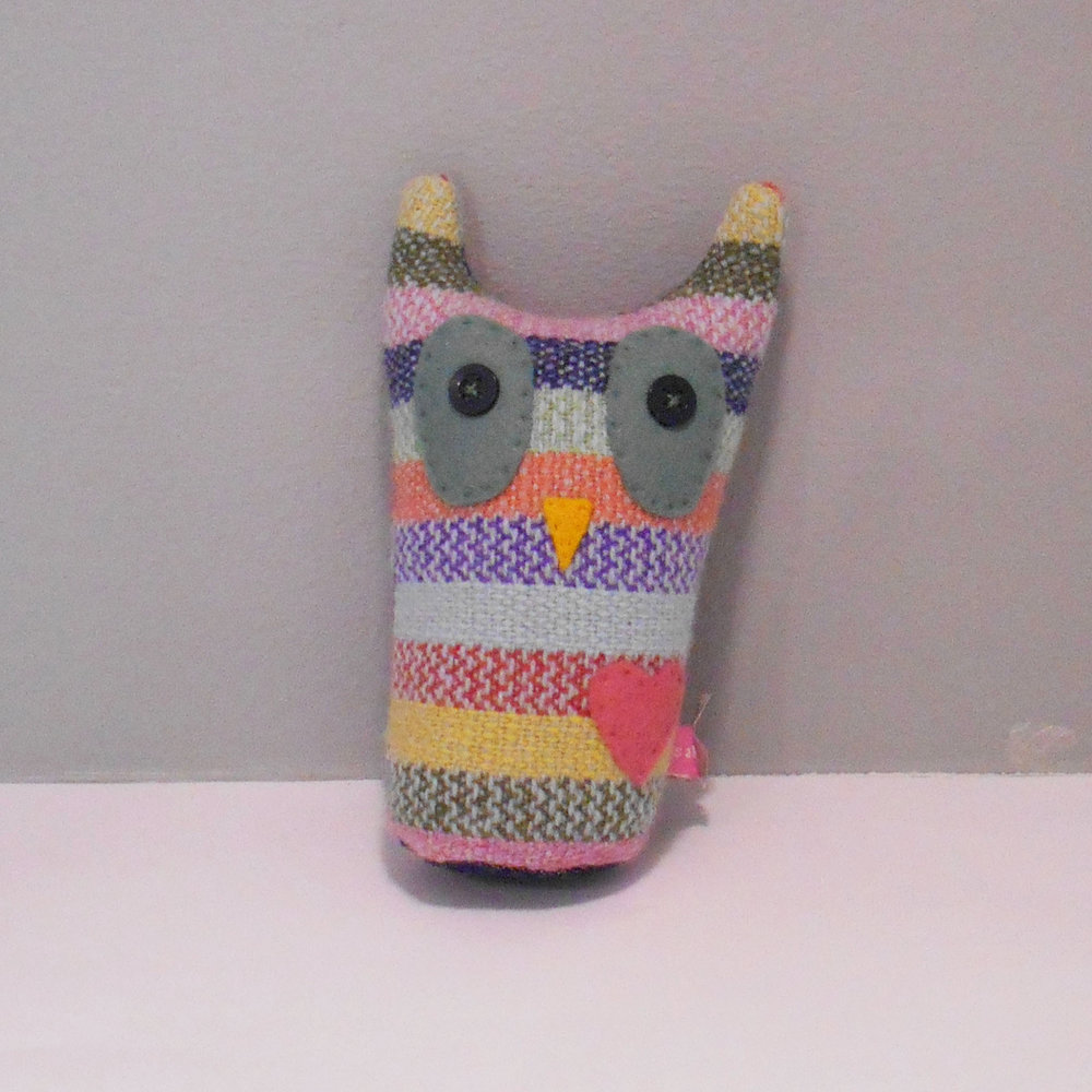 Sally Weatherill Baby Owl Lavender Bag wool £25