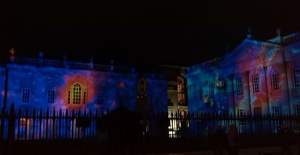 The changing face of the Senate House during E-Luminate