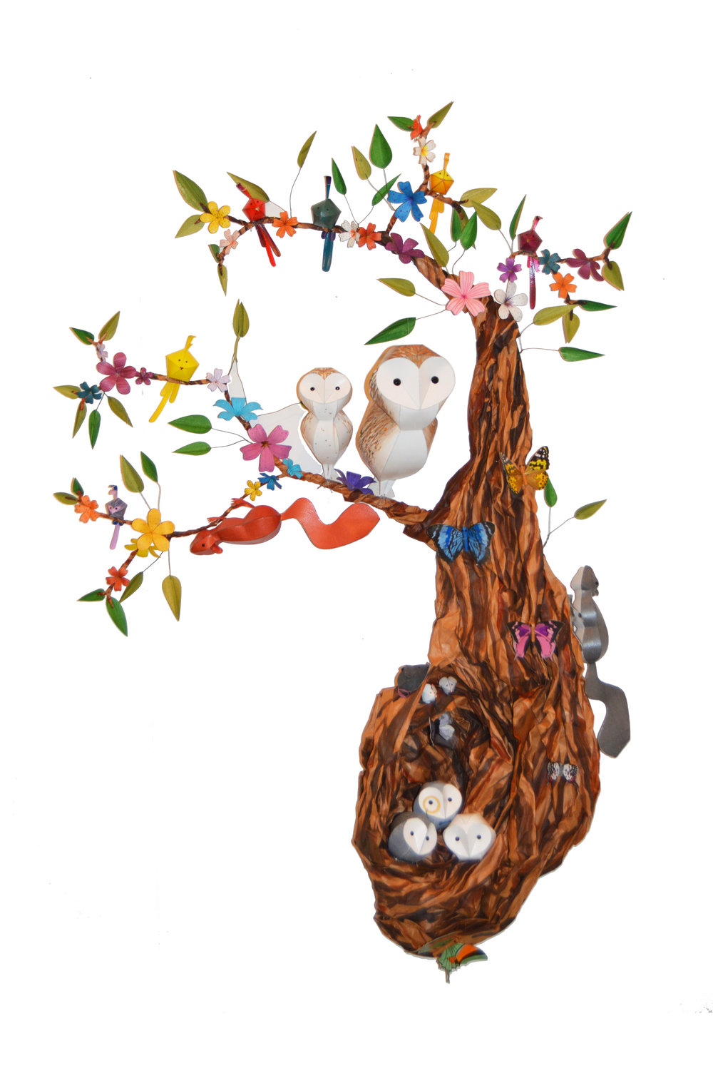 Woodland Tree Wall Hanging