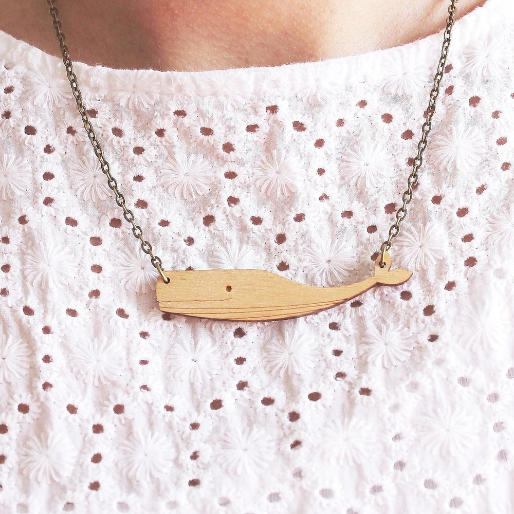 Whale Necklace  £12
