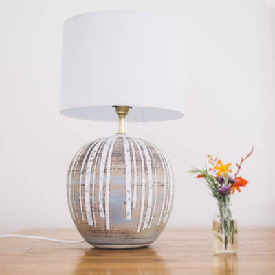 Globe Lamp  Stoneware  32 x 21 cm approx  £169