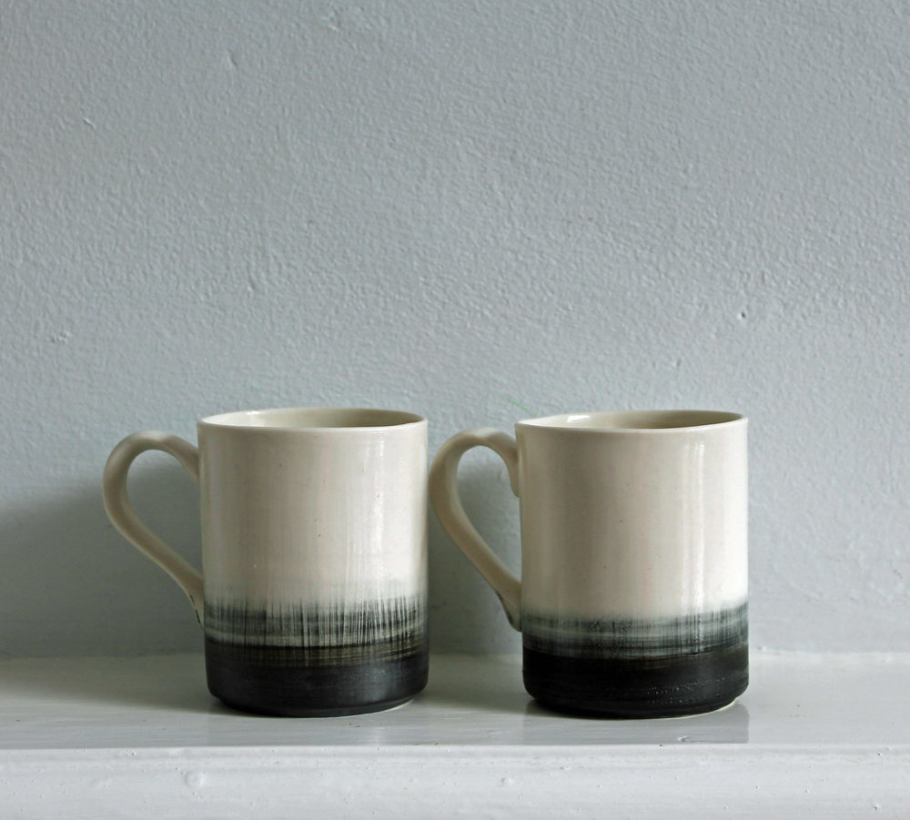 Pebble Mugs  ceramic  8.5 x 10 x 6.5  £19 each