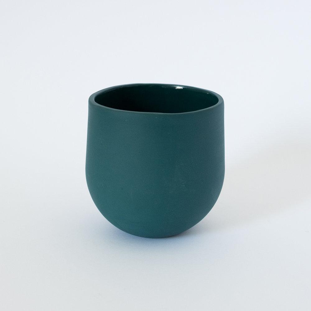 Tumbler Lagoon  Porcelain  8.5 x 8 x 8 cm  £30