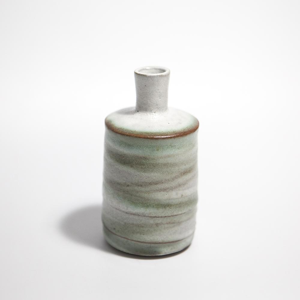 Tall Cylindrical Vase  ceramic  13 x 7 x 7 cm  £33