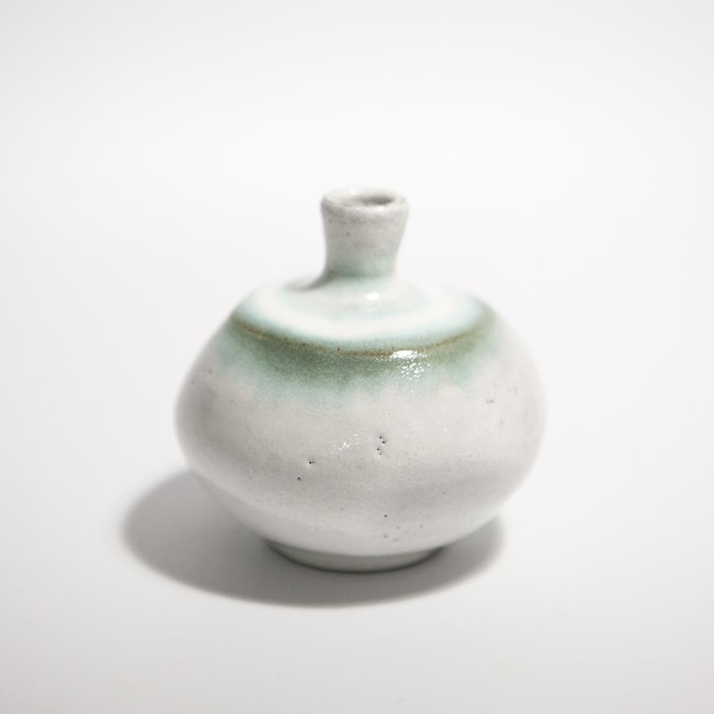 Globular Vase  ceramic  9.5 x 9.5 x 9.5 cm  £35