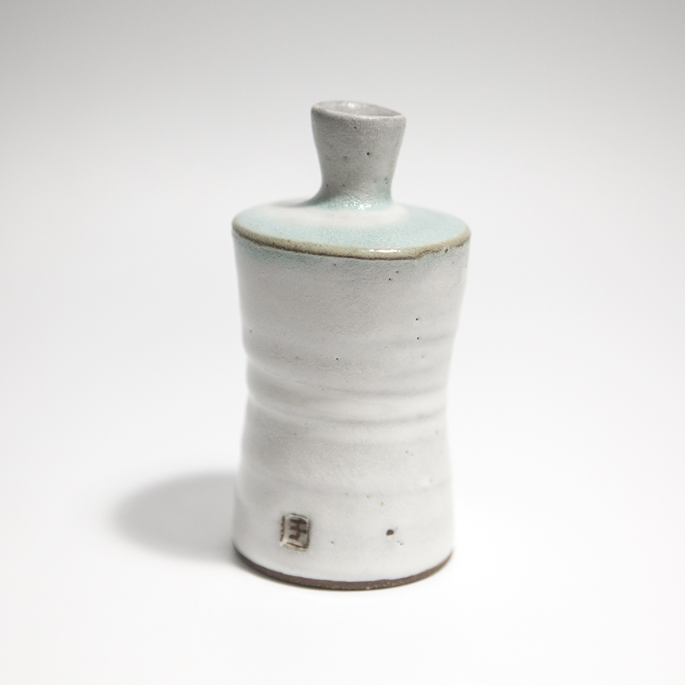 Tall Cylindrical Vase  ceramic  12 x 6 x 6 cm  £33