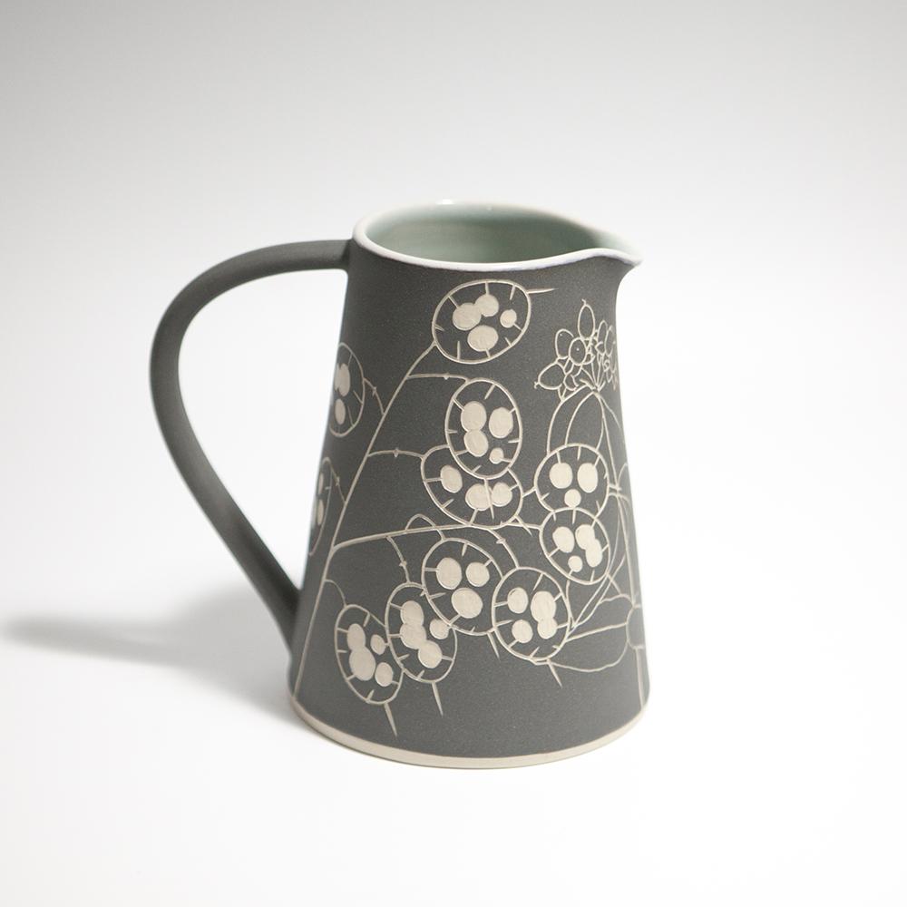 Large Jug  ceramic  14.5 x 14.5 x 10.5 cm  £71