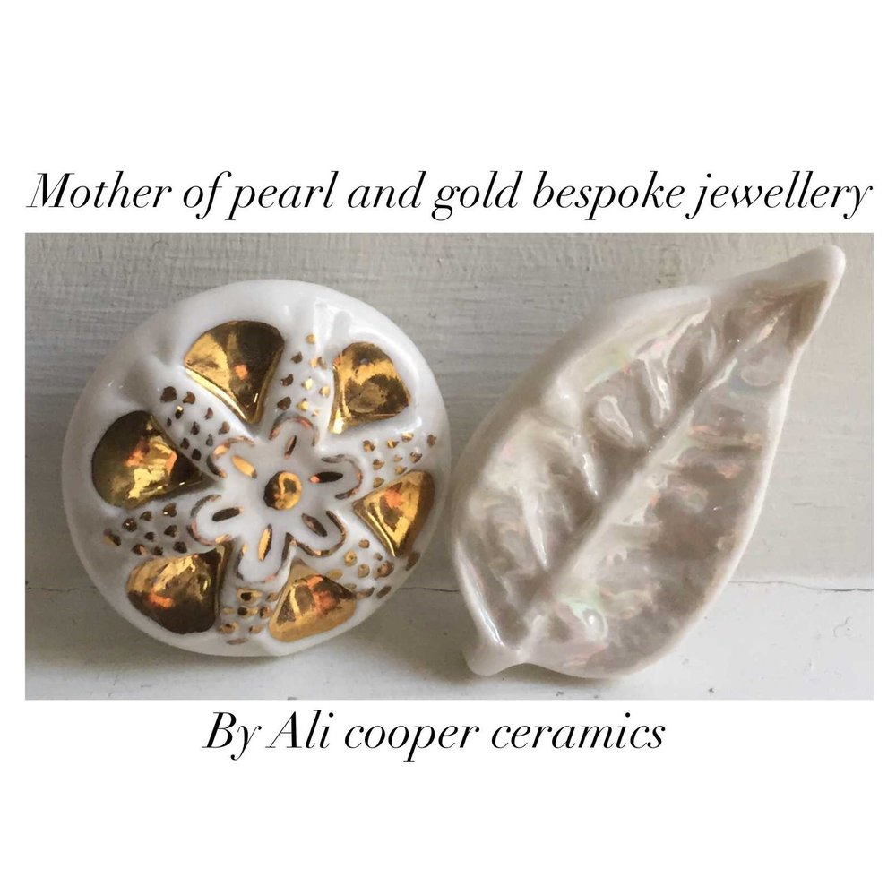 Mother of Pearl & Gold Bespoke Jewellery