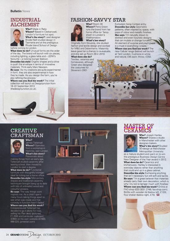 Grand Designs Magazine, September 2013