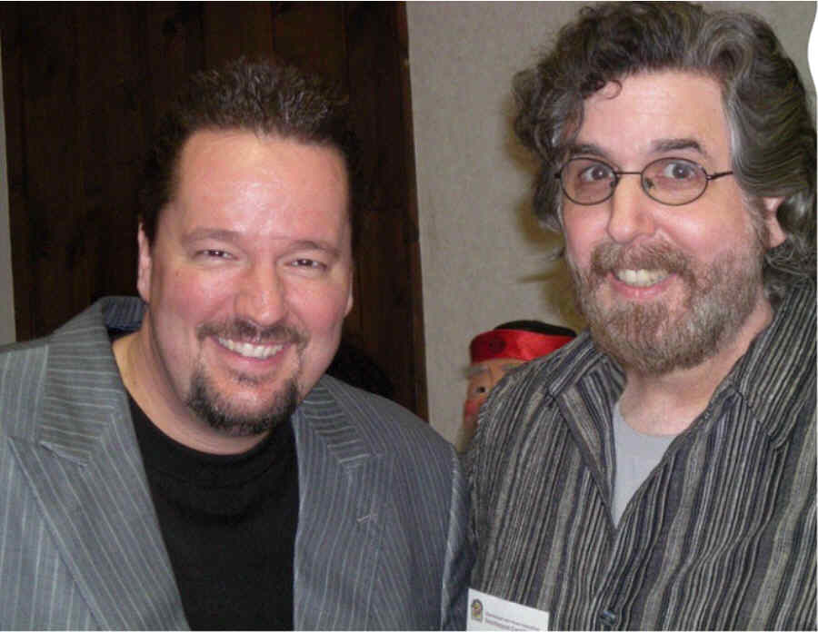With Terry Fator