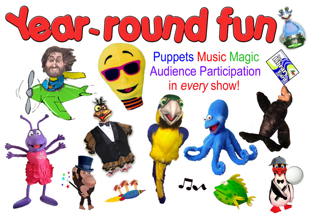 PetraPuppets - Year Round Fun