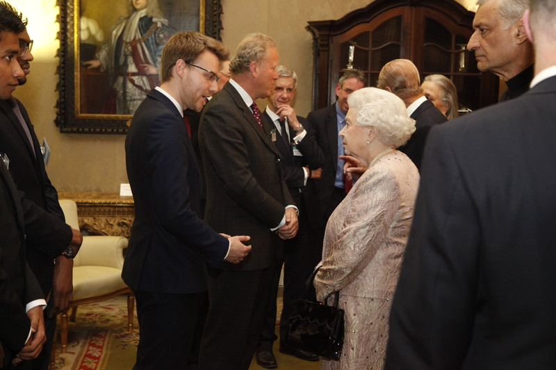 CX meets the Queen - March 2014