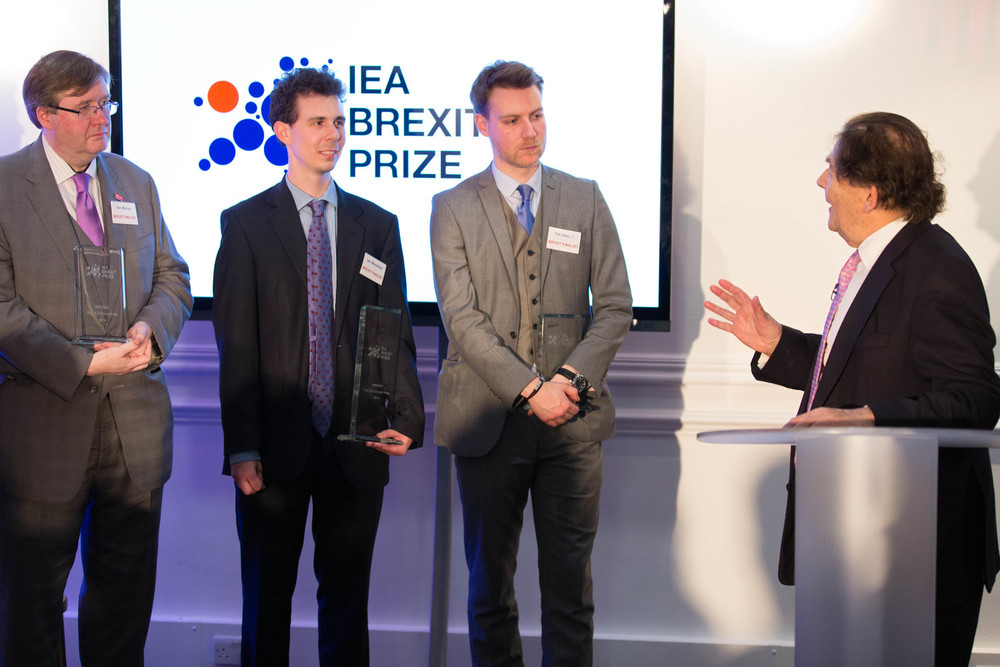 CX's third place at the IEA Brexit essay competition - April 2014