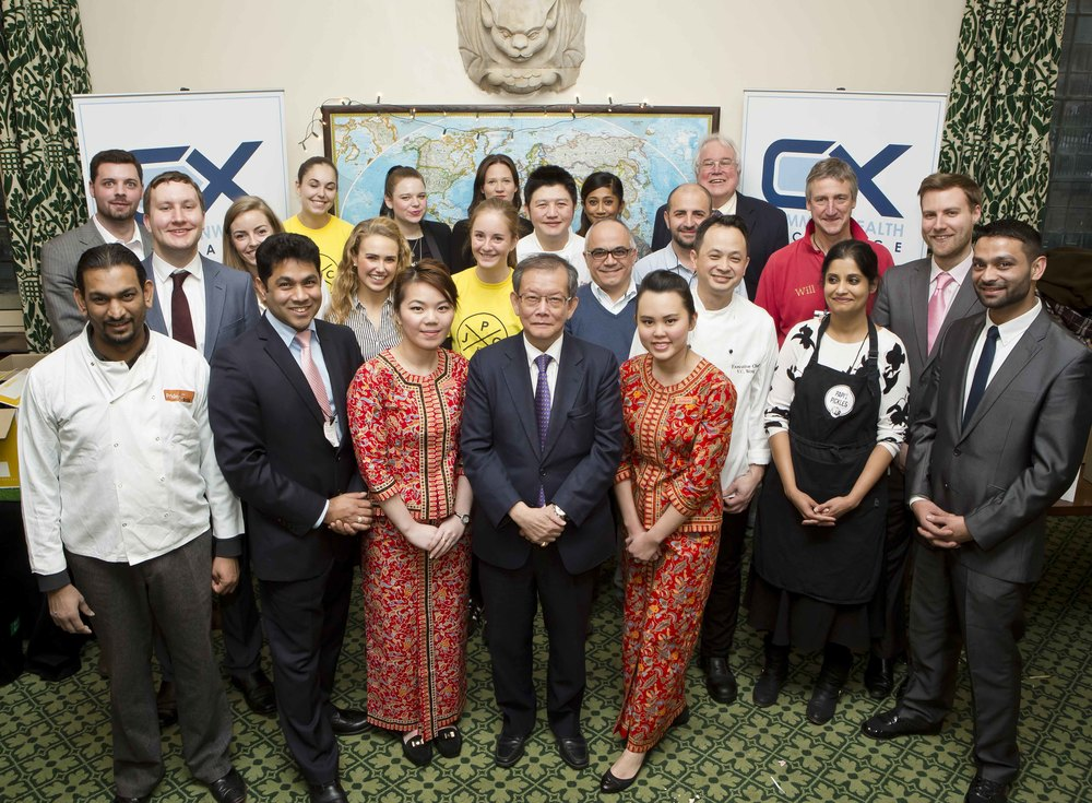 Commonwealth Food & Drink Festival in Parliament - Dec 2014