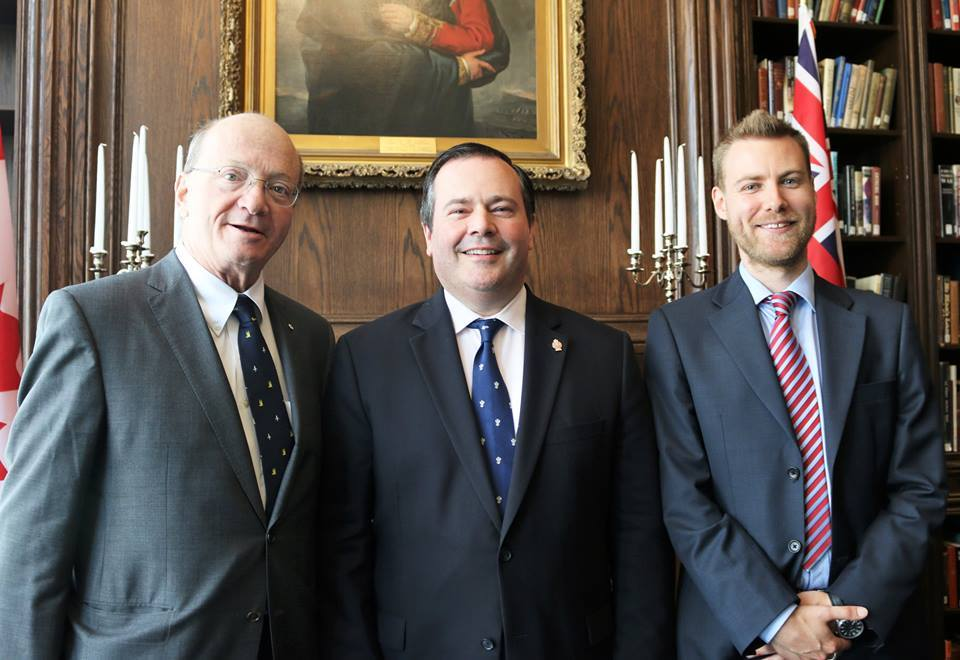 CX in Toronto with the Canadian Defence Minister - July 2015