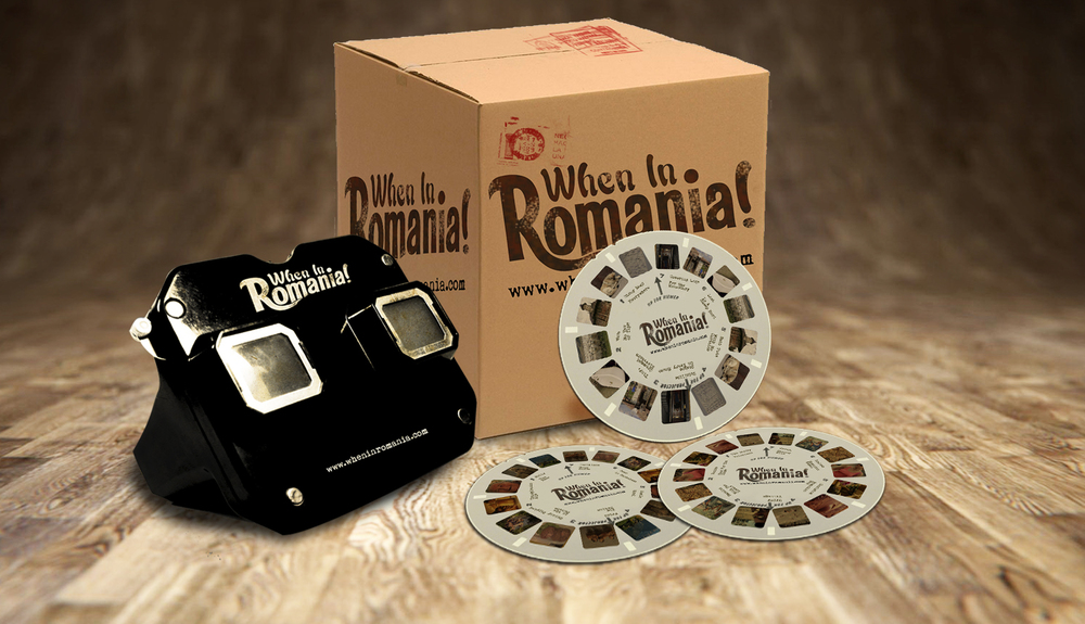 Direct Mail: View Master + Film sent out to travel bloggers