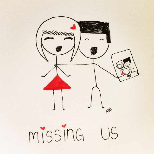 Missing us #longdistance #ldr #etsy #BoyHeartsGirl
