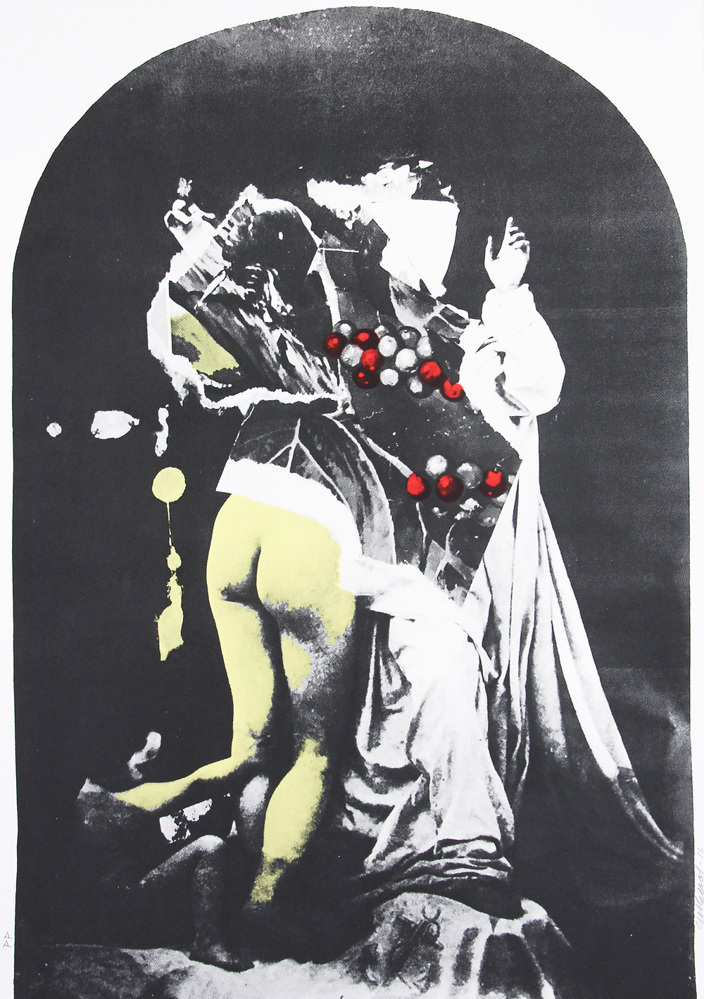 'Incorrupt Bodies' - New Screenprints available, edition of 30 + Artist's Proof