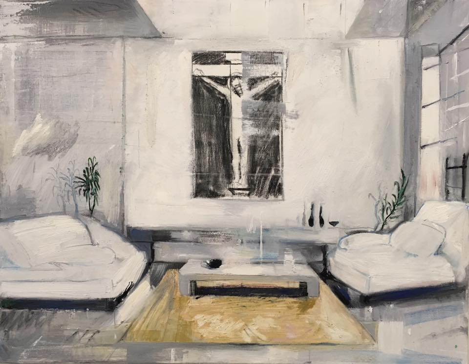 Interior Study (Crucifixion in the Living Room)