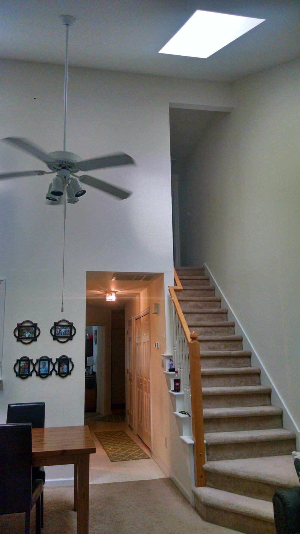 Standish Drive, 308 - View from LR up stairs.jpg