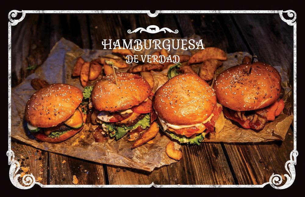 Новые гамбургеры в La Vaca!
