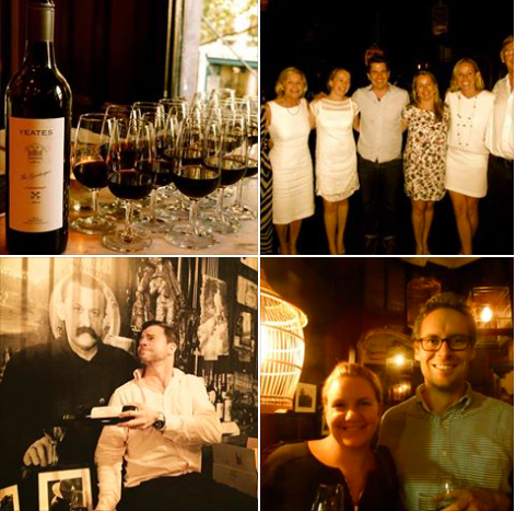 YEATES WINES LAUNCH    19th MARCH 2015, The Local, Sydney