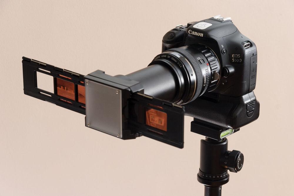 how to make film slides