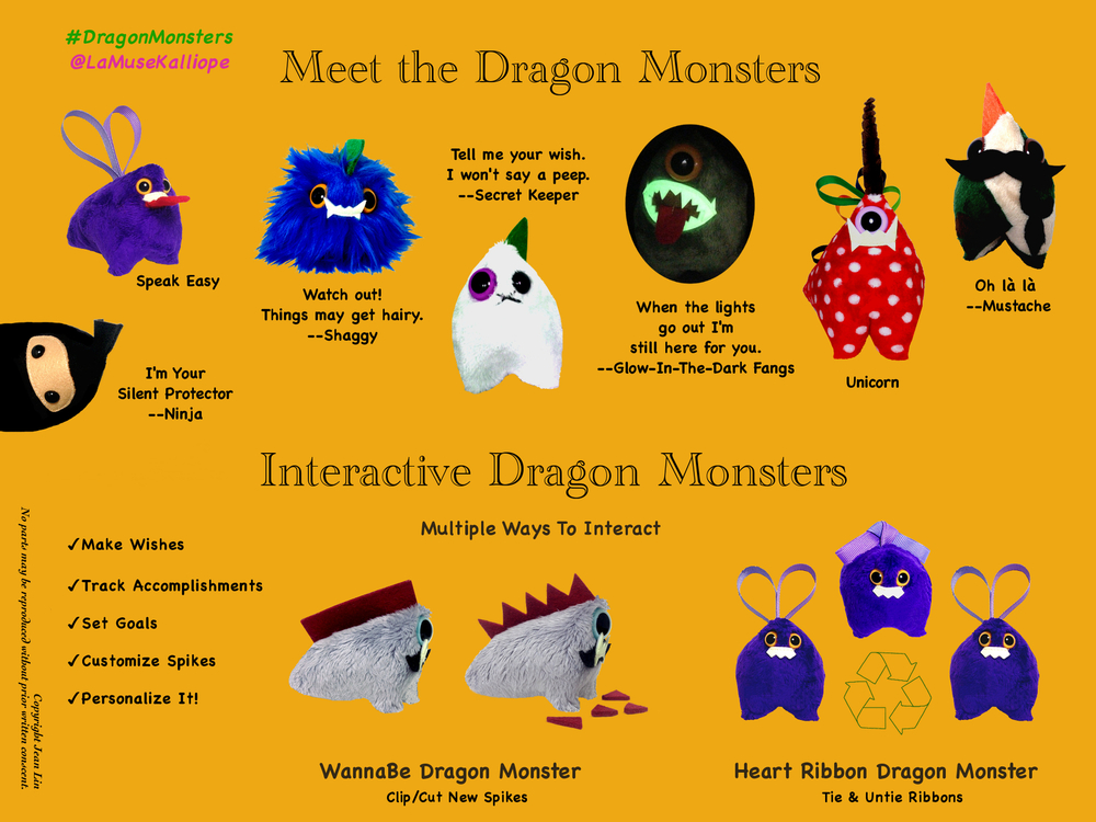 Meet The Dragon Monsters
