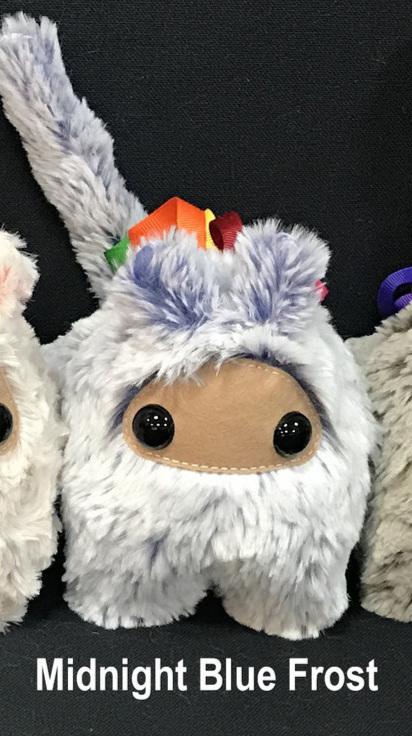 310585848121 Secret Keeper Dragon Monster Snow Ninja Bunny Bun Bun (Midnight Blue Frost)  - 3 Sizes — DRAGONETTE® ~ UNICORNETTE® Les Musettes®
