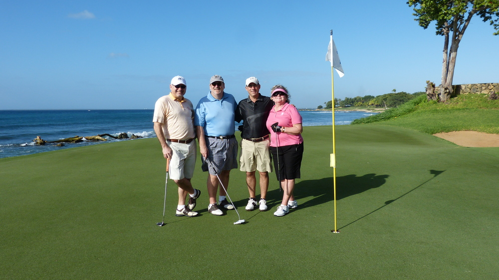 Golf Road Warriors take on Teeth of the Dog, Casa de Campo, Dominican Republic