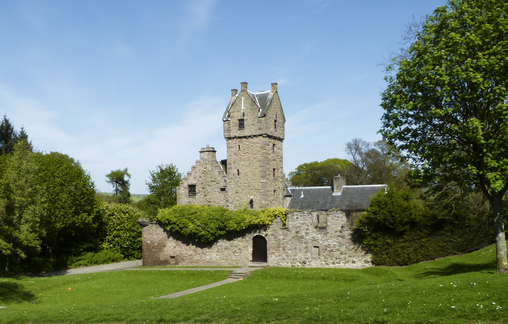 Mains Castle as it stands today