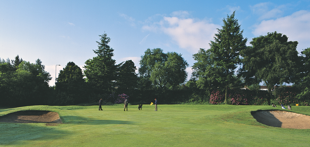 1st Green at Caird Park