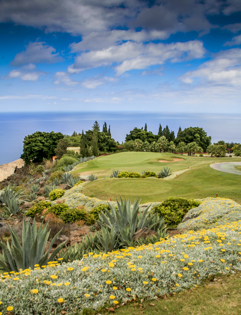 Tecina is a garden of golfing delights - David J Whyte © Linksland