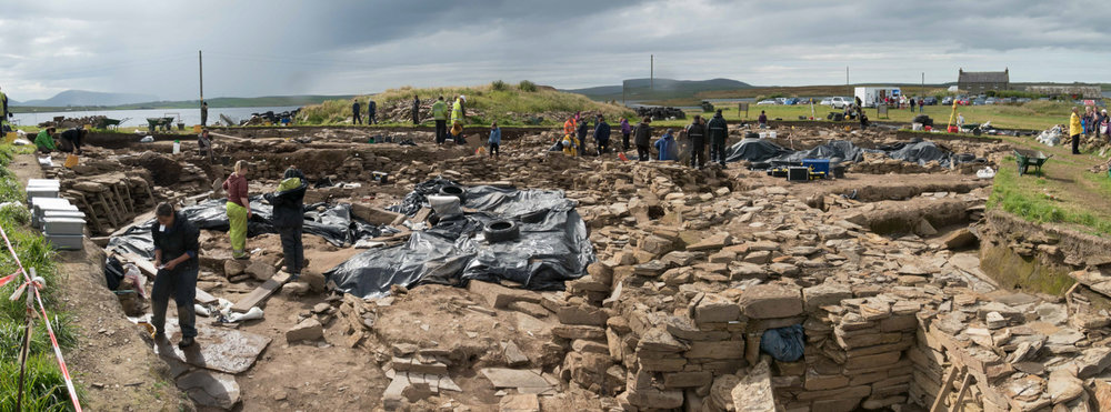 The dig at Ness of Brodgar, as important as Stonehenge