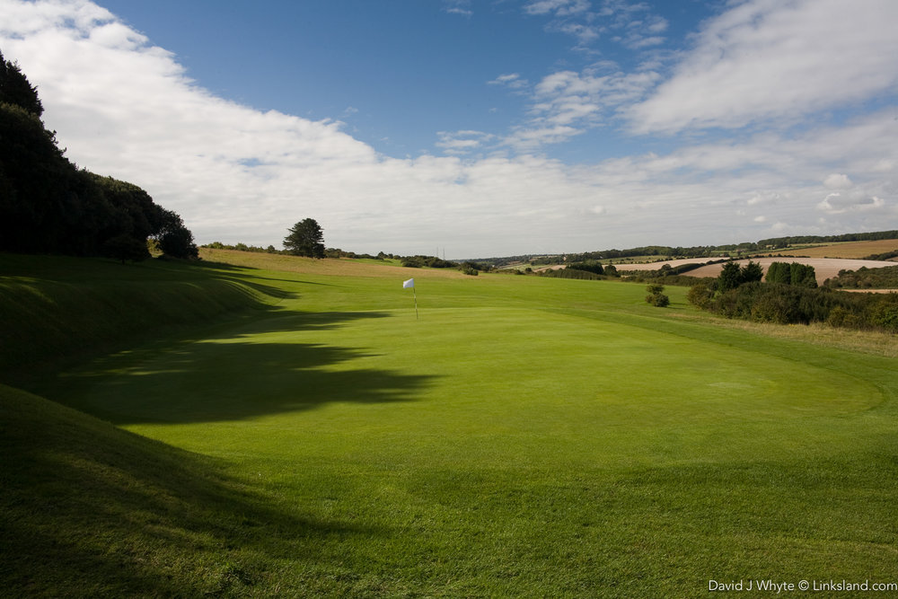 Walmer & Kingsdown Golf Club where dastardly Drax's was going to 'nuke' London... in the book Moonraker.