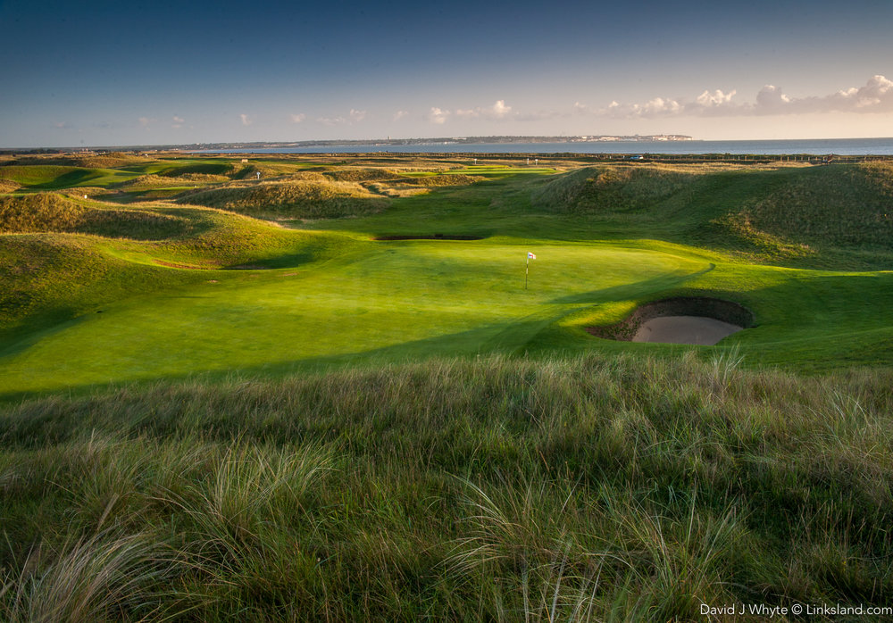The 6th, Royal St Georges named 'The Maiden' for the shapely dunes that surround it. Hmm! Nothing vaguely sexist about that then...
