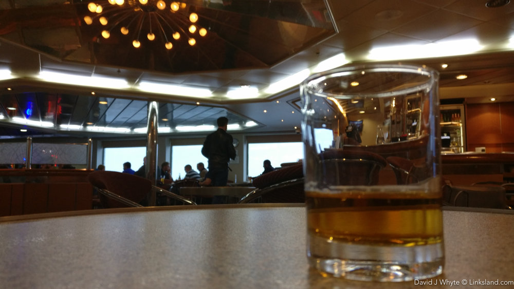 A wee dram just to finish off a perfect trip to Shetland.