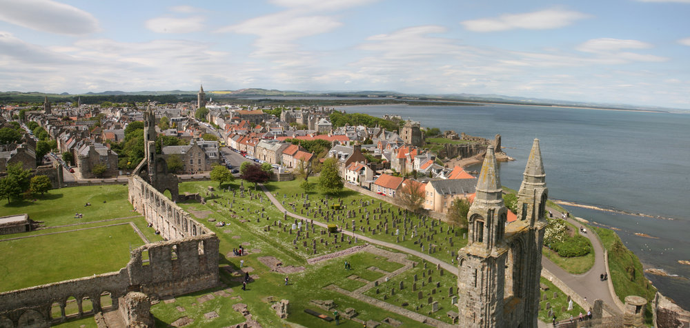 The town of St Andrews is considered the game's crucible. © David J Whyte