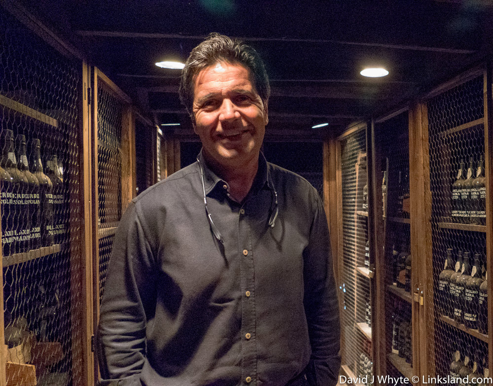 Blandy's Wine Lodge with Blandy's Winemaker, Francisco Albuquerque © David J Whyte @ Linksland.com-9.jpg
